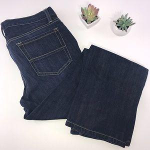 4317 GAP Jeans Dark Wash Straight Leg Jeans 10 30